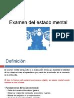 5.El examen mental