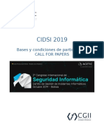 CIDSI 2019 - CALL FOR PAPERS