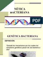 5. GENÉTICA BACTERIANA