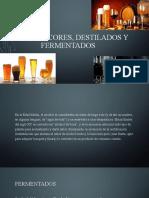 ISIMA Coctelería Licores, Destilados y Fermentados