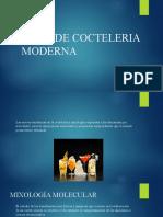 ISIMA Coctelería Tipos de Cocteleria Moderna