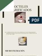 Isima Coctelería Cocteles Clarificados