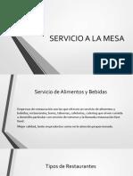 Isima Coctelería Servicio de Mesa
