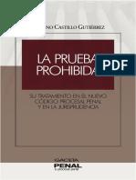 La Prueba prohibida en el nuevo código procesal penal