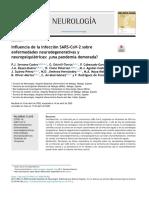 Influencia de la infección SARS-CoV-2 sobre enf neurodegenerativas y neuropsiquiatricas.pdf