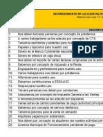 CASO PRÁCTICO RECONOCIMIENTO - ACTIVO, PASIVO Y PATRIMONIO