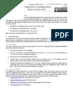 0578 Installation Et Configuration Dun Serveur Web Tp