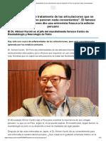 Bioforce.Los métodos de tratamiento de las articulaciones que se implican en Peru
