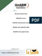 GADMA_U2_A2_MEPP_Fallas en el proceso administrativo LA CAZUELA
