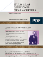 Las convenciones contra la cultura - German Colmenares