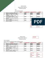 ASISERVI PRP PLANTA Y EQUIPO INVERSIONES