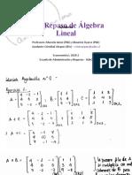 Prático 0A - Repaso de Álgebra Lineal