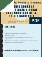 Estudio Sobre La Metodología Virtual en El Contexto