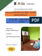 PLAN DE APRENDEMOS EN CASA 2020