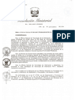 PETI - Ministerio de la Producción Perú