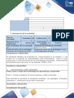 Guía de actividades y rubrica de evaluación - Fase 0 - Evaluar presaberes de comunicaciones