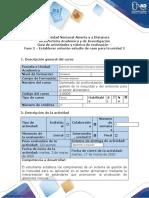 Guía de actividades y rúbrica de evaluación-Fase 2-Establecer solución estudio de caso para la unidad 2