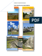 Ciudades Principales de Mesoamèrica