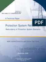 NERC-Protection Sistem Reliability_1-14-09