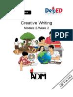 Creative Writing Module 2-Week 2.docx