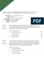 Fase 1 - Conocimientos previos - Cuestionario de evaluación