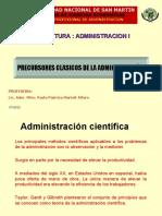 II. PRECURSORES CLASICOS DE LA ADMINISTRACION (1).ppt
