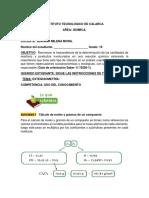 Guia 6estequiometria. grado 10 (1)