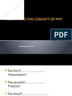 Remapping the Concept of PPP