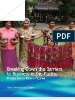 Breaking Down the Barriers to Business in the Pacific