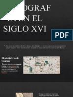 CARTOGRAFIAEN EL SIGLO XVI