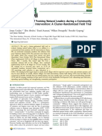 Impact Evaluation of Training Natural Leaders during a Community-Led Total Sanitation Intervention A Cluster-Randomized Field Trial in Ghana.pdf