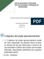 AULA APROVISIONAMENTO COVID-19