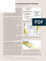 Rock physics modeling constrained by sequence stratigraphy