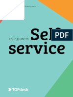 TOpdesk - Guide to Self Service
