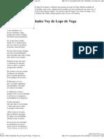 Poema a Mis Soledades Voy de Lope de Vega