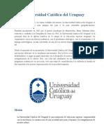 universidad catolica del Uruguay