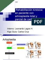 rehabilitacion en protesis de cadera