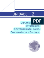 LIVRO - PNAP - UNIDADE 2 - Planejamento Estrategico Governamental