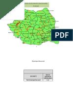 Rata de infectare cu noul coronavirus pe fiecare localitate din România