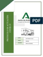 CEIP Francisco Ayala. Iznalloz. Protocolo COVID Septiembre 2020 Red.