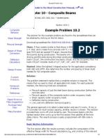 Example Problem 10.2