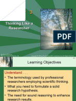Chapter 3, Thinking like a researcher.ppt