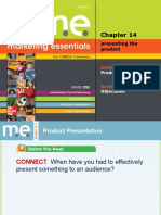 Marketing Essentials_ Chapter 14_  Presenting The Product_.ppt