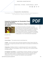 Inspection Guidelines - International Firestop Council