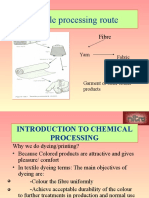 INTRODUCTION & Overview of pr CHEMICAL PROCESSING