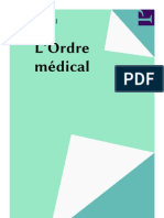 L'ordre médical, Jean Clavreul.compressed