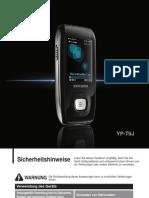 Samsung YP-T9 Manual