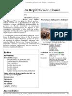 Proclamação da República do Brasil – Wikipédia, a enciclopédia livre