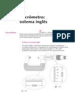 10. Micrômetro sistema inglês