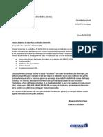 Rapport et expertise sur dégâts matérielle
